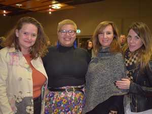 Katrina Torenbeek, Isabel Hart, Linda Gordon and