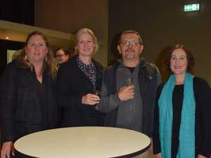 Justyne Wilson, Amanda Maurice, Cecil Barnard and