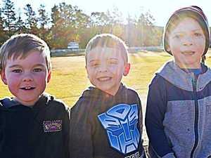 Jaxon Miller, Noah Adams and Tyson Boulton.