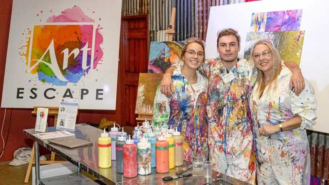 Escape through art with a splash of colour