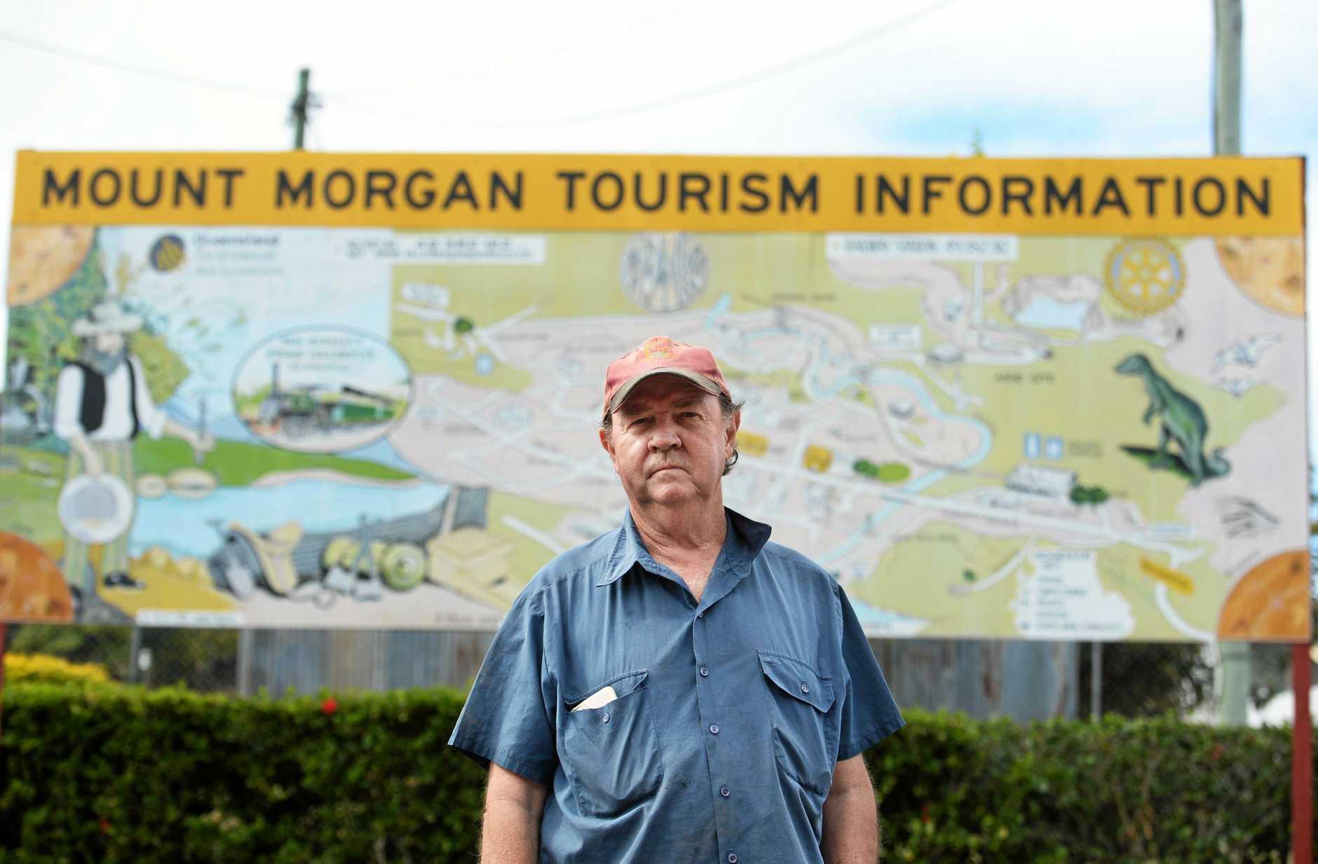 Mount Morgan's John Steinberger.