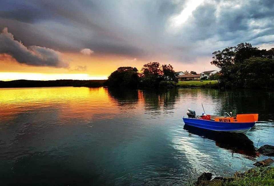 Evans River sunset.