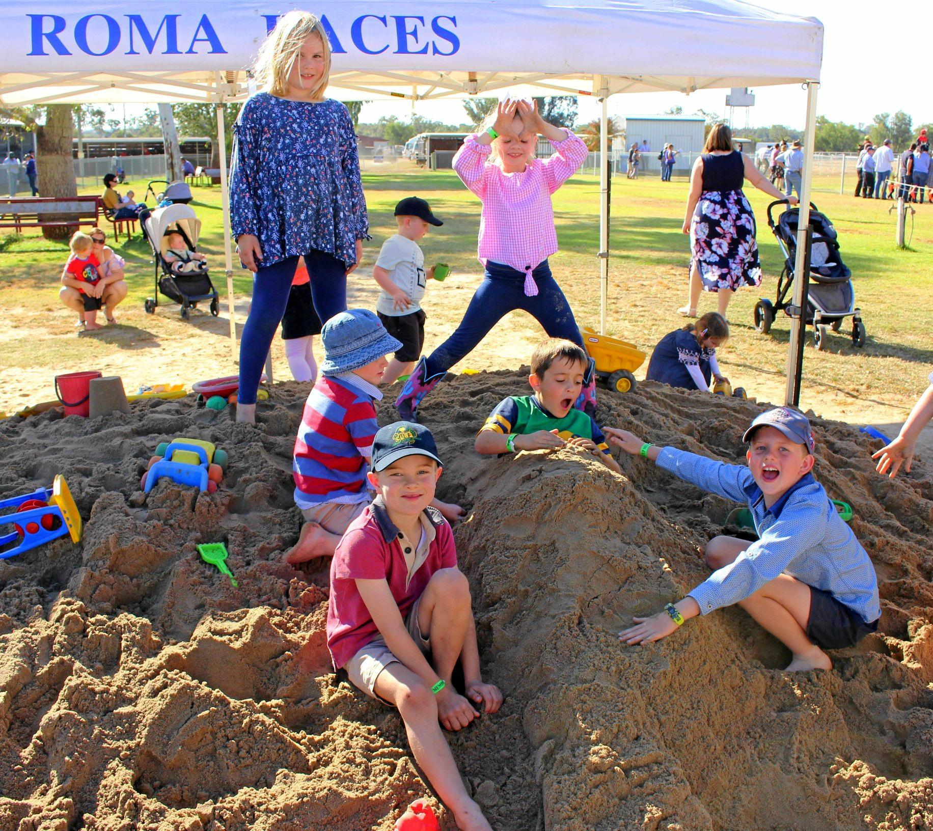 FAMILY FUN: Roma Turf Club and Roma State College are once again hosting Fillies & Families race day.