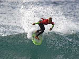 Clarence Valley surfers fall shy of grom glory