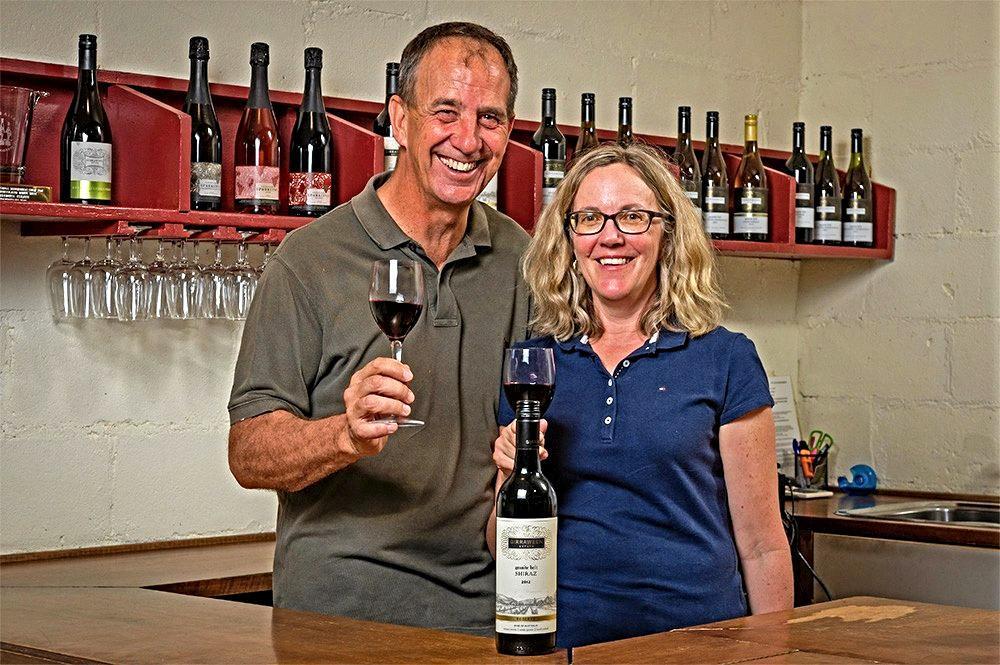 ACCOLADE: Girraween Estates' Steve Messiter and wife Lisa. Mr Messiter won the RQWS Bursary.