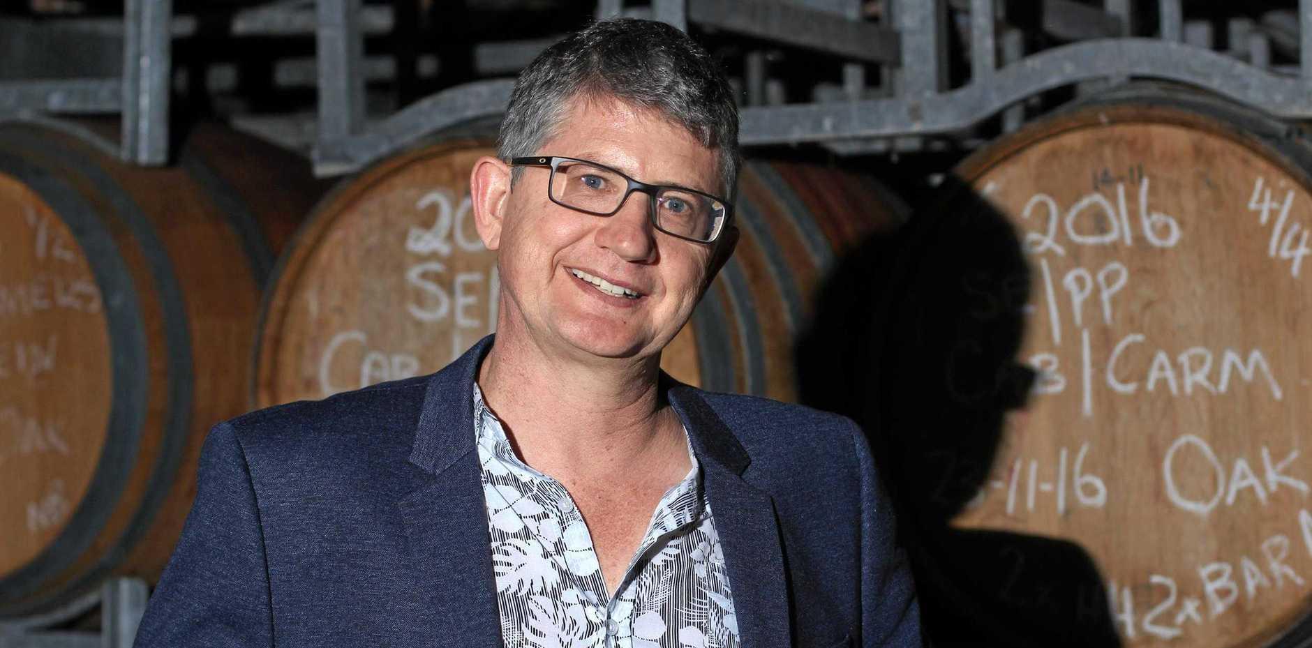 Symphony Hill Wines owner Ewen Macpherson.