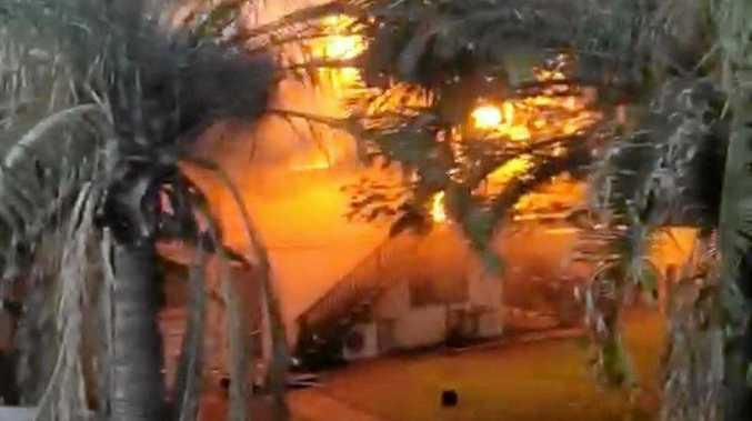 Family home burns down in birthday celebration disaster
