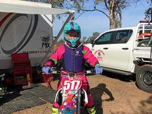 Broken back didn't break 12-year-old rider's spirit