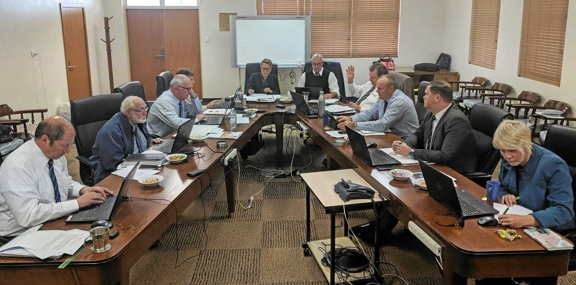 COUNTING COINS: North Burnett Regional Council's Budget Meeting in Mundubbera on Wednesday, July 17.