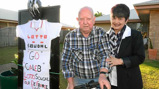 Bundy grandparents celebrate cyclist's Tour de France joy