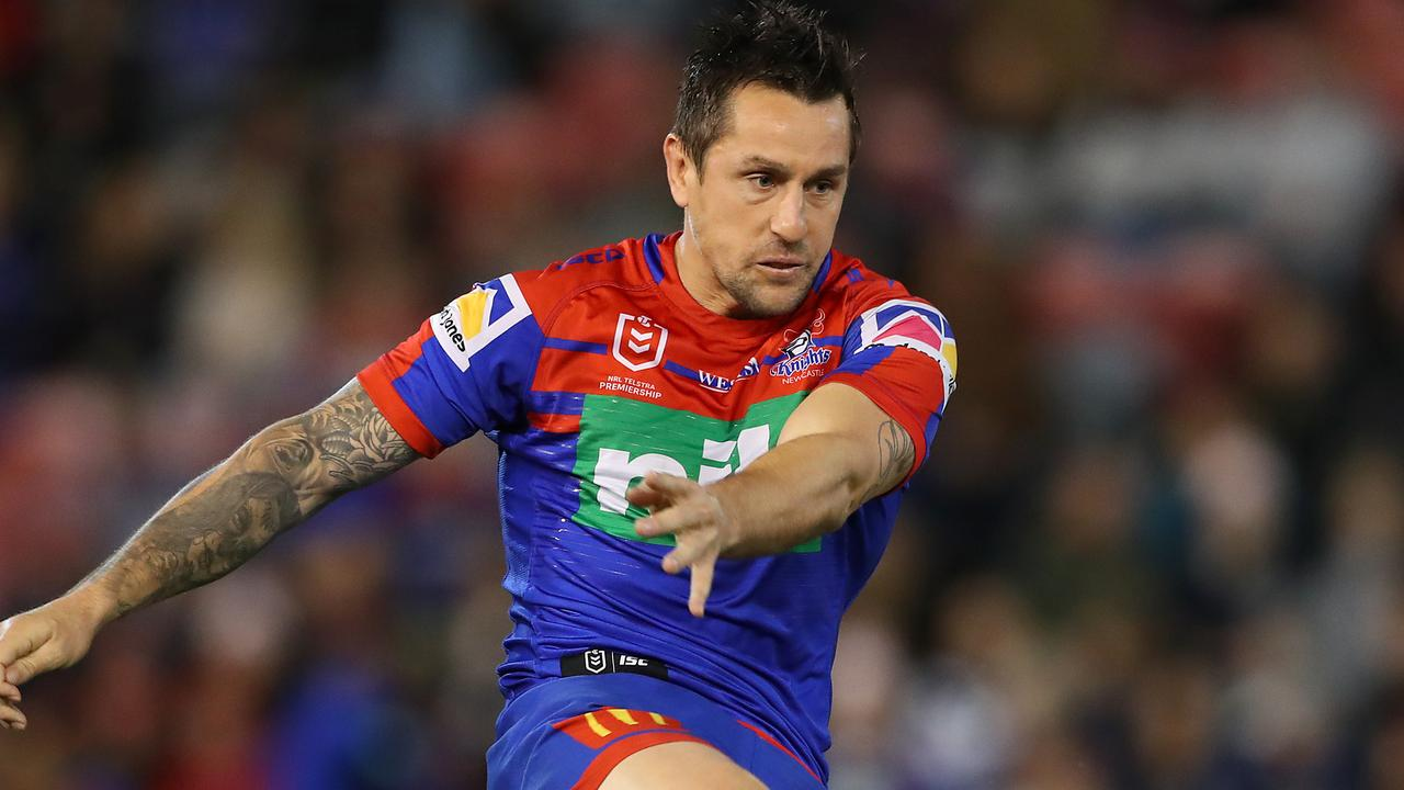 Pearce would love to lead the Knights into the finals. Image: Tony Feder/Getty Images