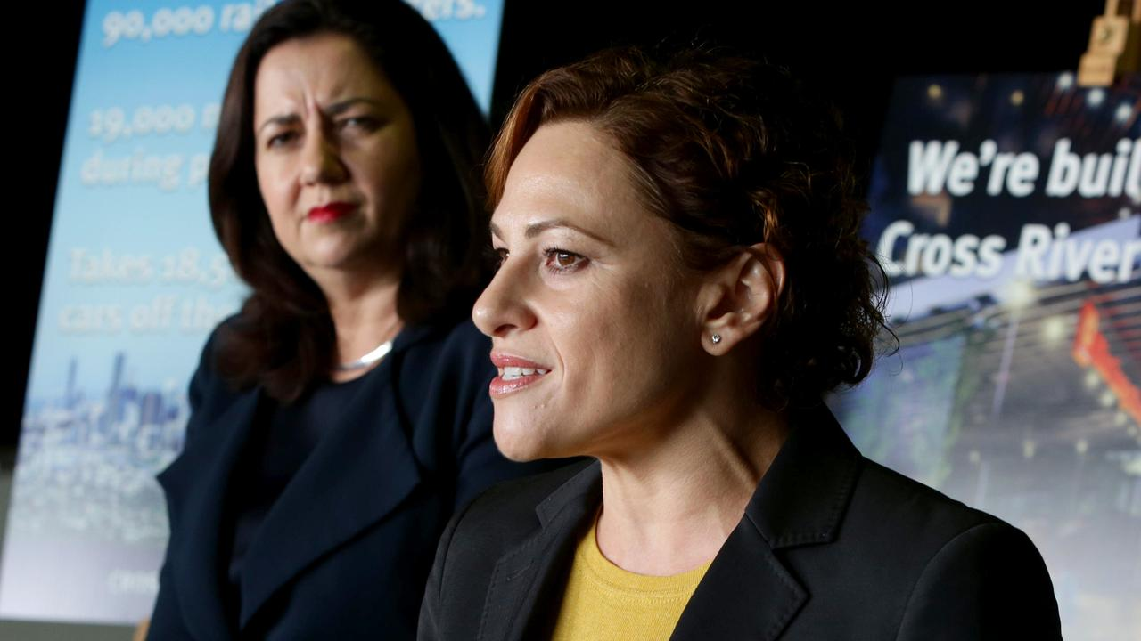 Premier Annastacia Palaszczuk has refused to admonish Deputy Premier Jackie Trad over her secret property purchase. Picture: Steve Pohlner