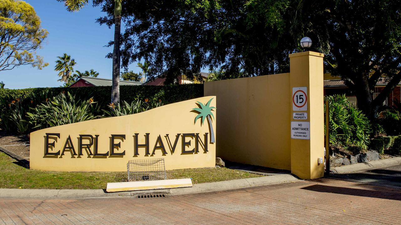 Earle Haven aged care facility in Queensland's Nerang went into administration and left many elderly residents temporarily without care. Picture: Jerad Williams/News Corp Australia