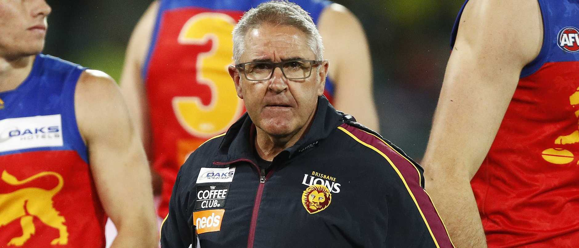 Chris Fagan is encouraging his players to take each game as it comes. Picture: Getty Images
