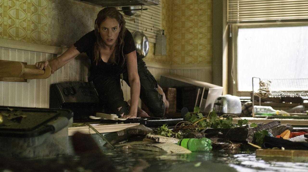 Kaya Scodelario in Crawl. Picture: Paramount Pictures