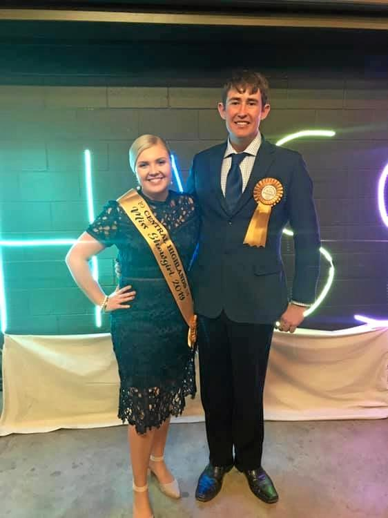HIGH RECOGNITION: Clermont residents Lyndal Tuttle and Jamie Warren will represent the Central Highlands at the Ekka next month.