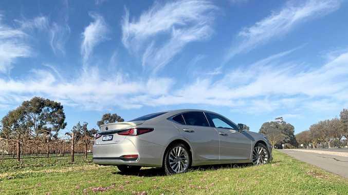 Rarefied freezing air in a luxury sedan