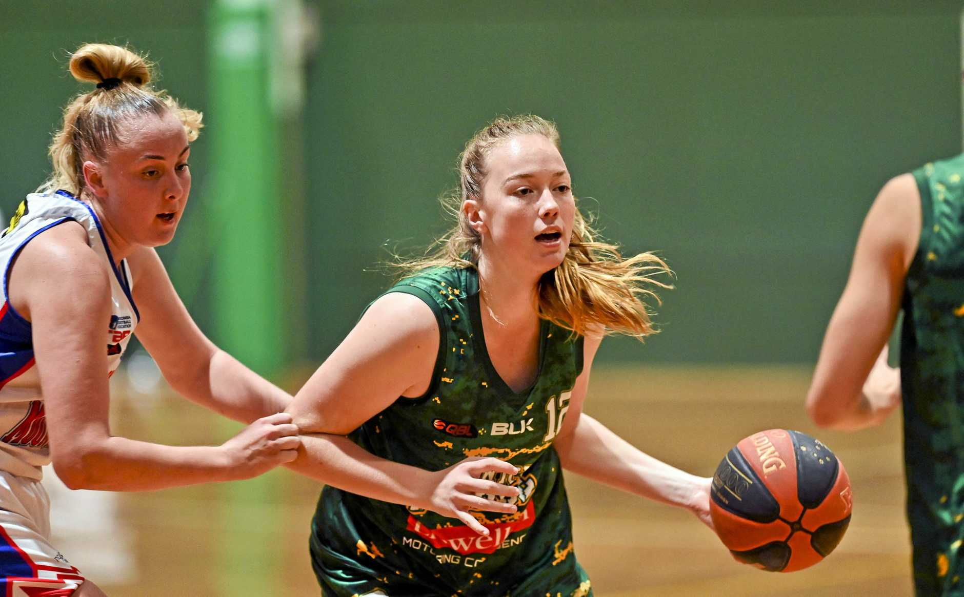 Ipswich Force basketballer Grace Ellis.