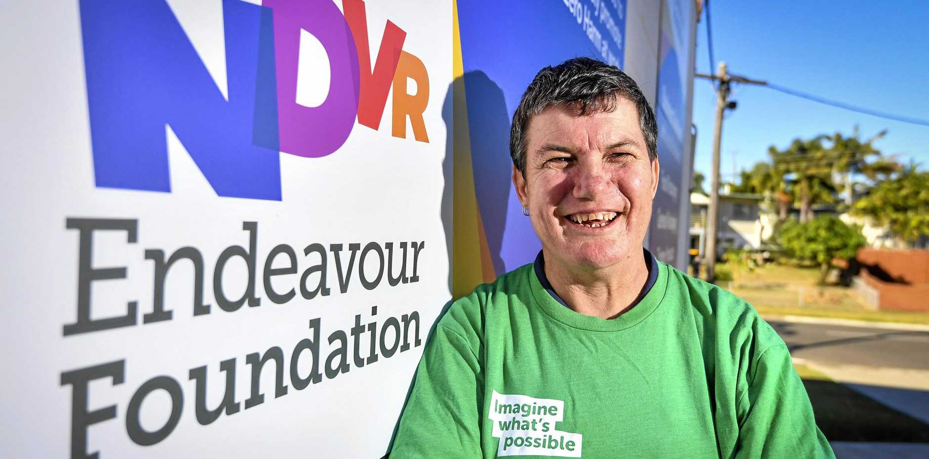 Gladstone woman Racquel Nugest, who works for the Endeavour Foundation, has been selected to take part in the Great Endeavour Rally.