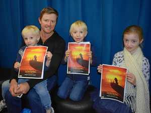 Simba sparks inspiration for young actors