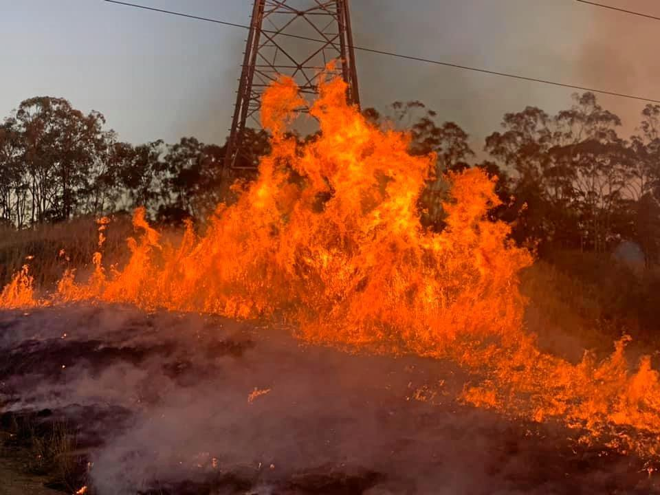 HAZARDOUS LOAD: Fire crews have conducted preventative fire breaks across the Gladstone region.