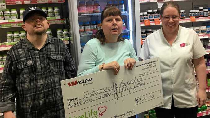 Pharmacy's gift to local charity creates 'happy faces'