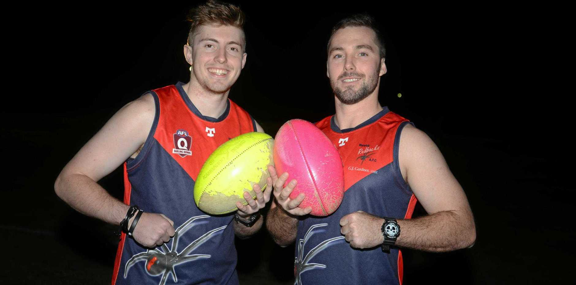 Brothers Shane and Brendan Iles return for this Saturday's clash.