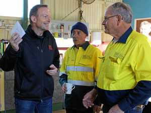 GALLERY: Tony Abbott sets pace as Pollie Pedal drops in