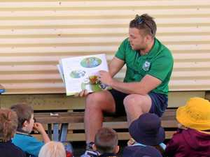 South Burnett schoolkids get a kick out of NRL Literacy Tour