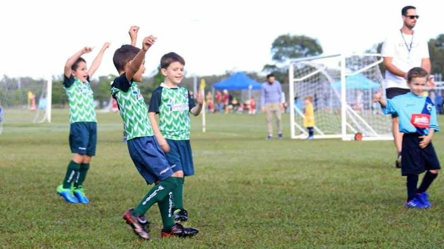 GO WILDCATS: The Nambour Wildcats Soccer Club is bringing life back into the town with its fresh new look.