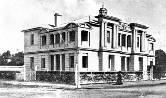 HAUNTING HISTORY: Customs House, circa 1910.