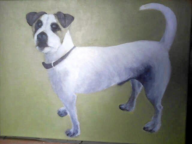Casino artist Julia Milton likes to draw animals.