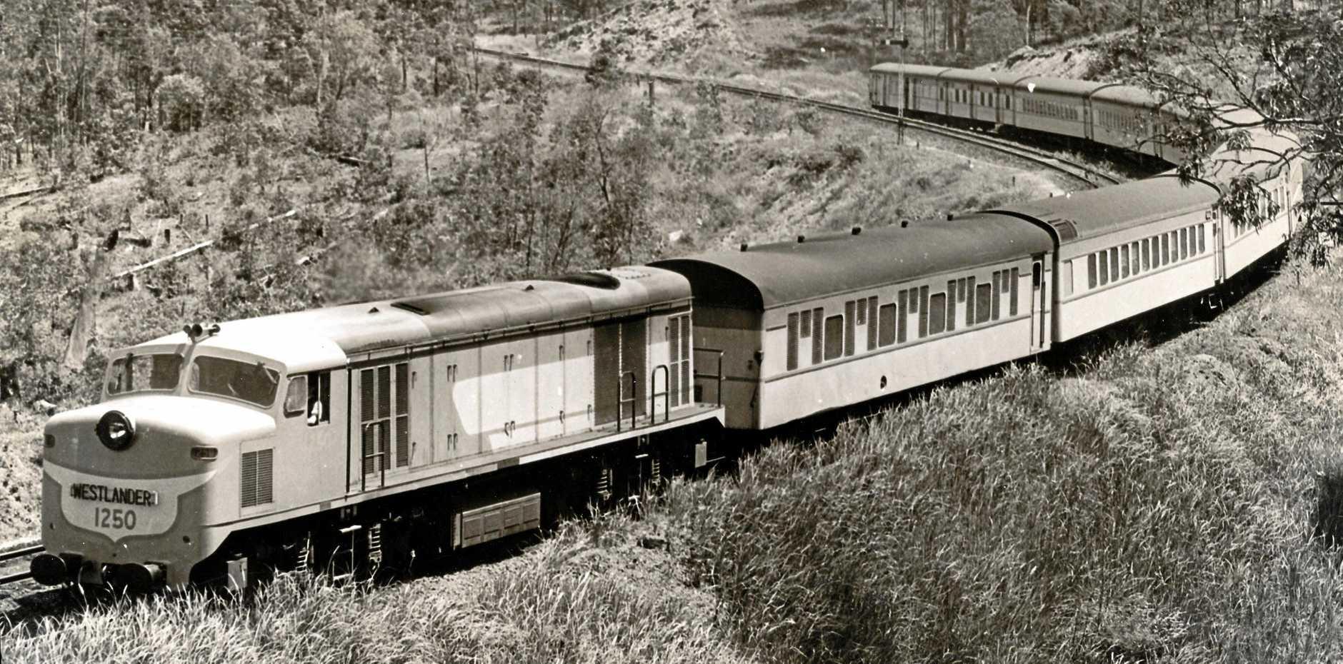 The Westlander in the 1950s