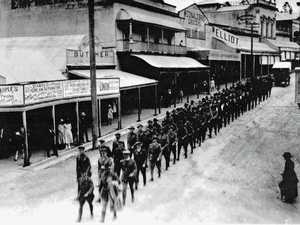 Historic Gympie scenes recreated 100 years apart