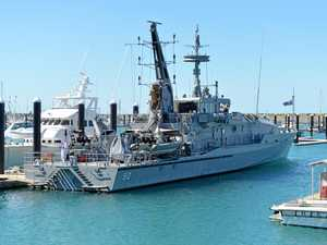Why a Royal Navy vessel has docked in Mackay
