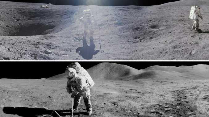 NASA reveals unseen moon pictures