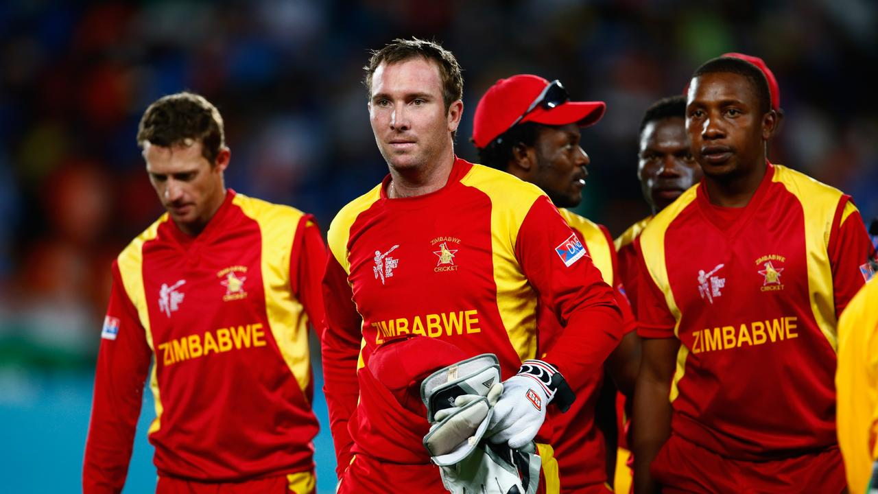 Zimbabwe has been suspended from international cricket because of government interference.