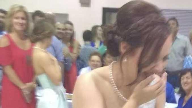 'Selfish' wedding act causes rage