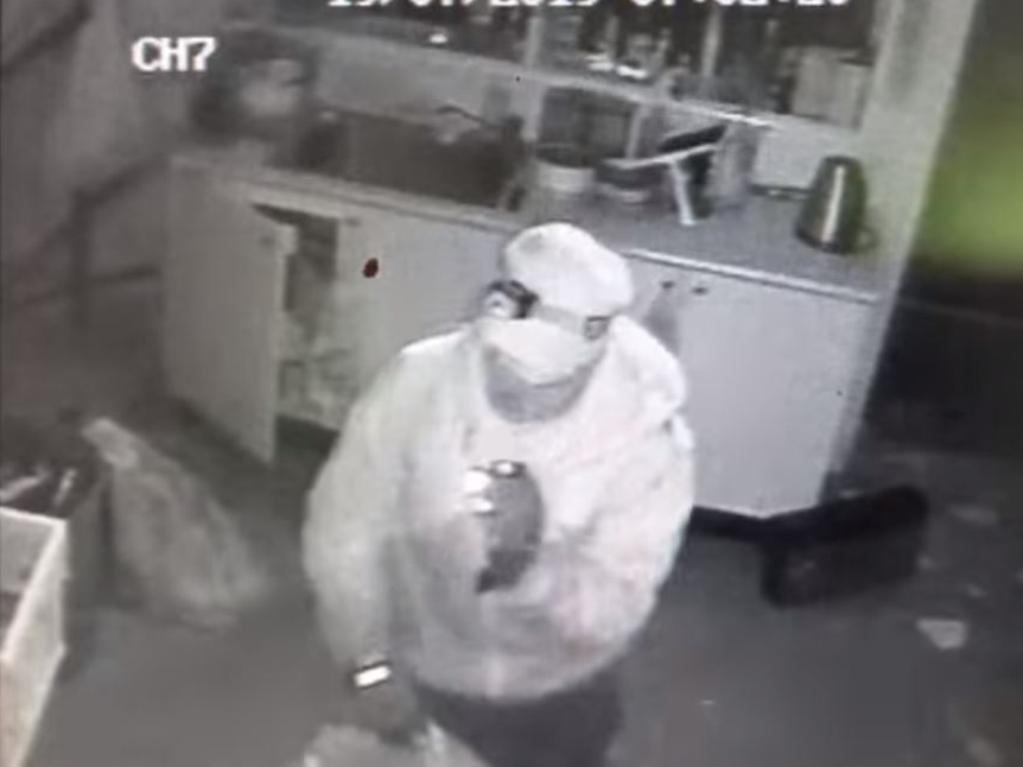 Anyone who recognises this man is urged to contact the police. Picture: Canberra Reptile Zoo/Facebook