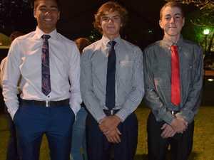 Mason Paerau, Joh Dickman, and Matthew Winfield at