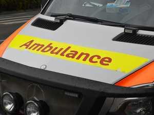 Man taken to hospital after Mt Marshall crash
