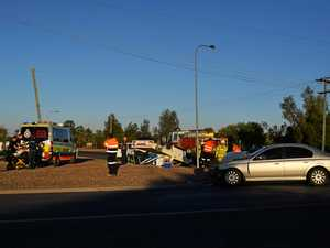 Second crash in 24 hours at problem intersection