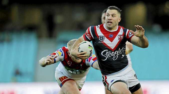Jake Friend injured as Roosters thump Newcastle
