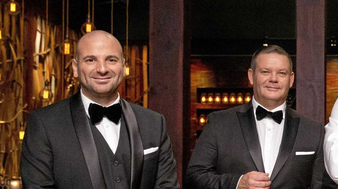 George Calombaris (left) has been found guilty of underpaying his staff.