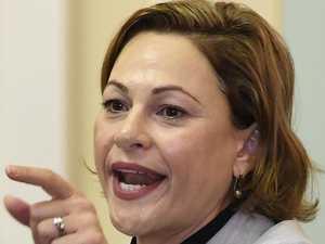Deputy Premier Jackie Trad drops the C-bomb