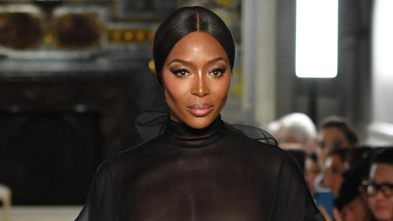 Naomi Campbell's wipe down routine is seriously impressive. Picture: Pascal Le Segretain/Getty