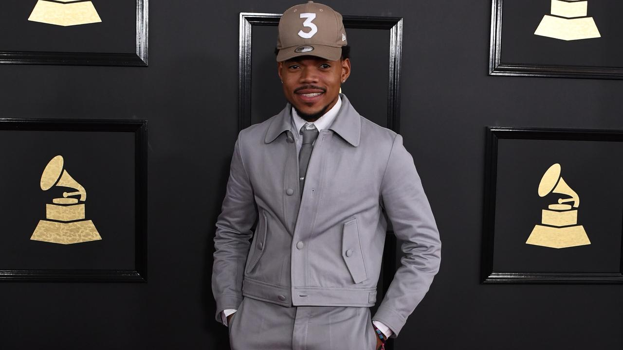 Chance the Rapper. Picture: Mark Ralston