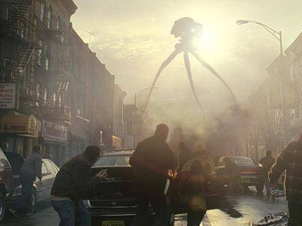 A looming alien war? The plot of War of the Worlds is plausible for conspiracy theorists.