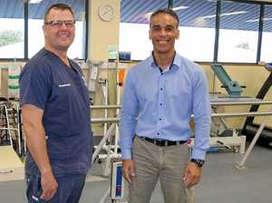 Campbell helps bring 'new frontier' to Rockhampton Hospital