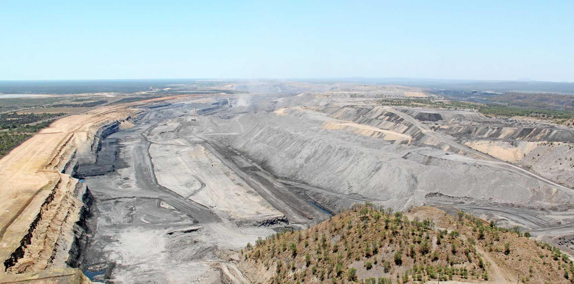 Saraji Coal Mine.